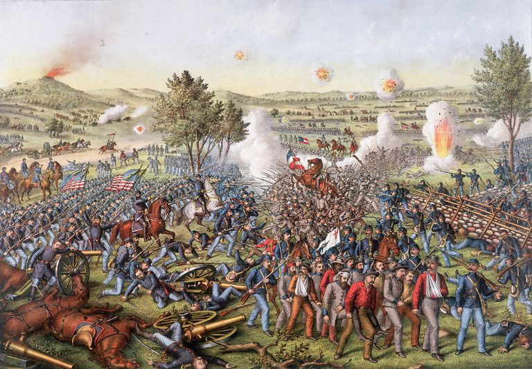 essay about the battle of gettysburg Free essay: the battle of gettysburg occurred over three hot summer days, july 1 to july 3, 1863, around the small town of gettysburg, pennsylvania the events that took place at gettysburg had a tremendous impact on the outcome of the civil war and the fate of the united states.
