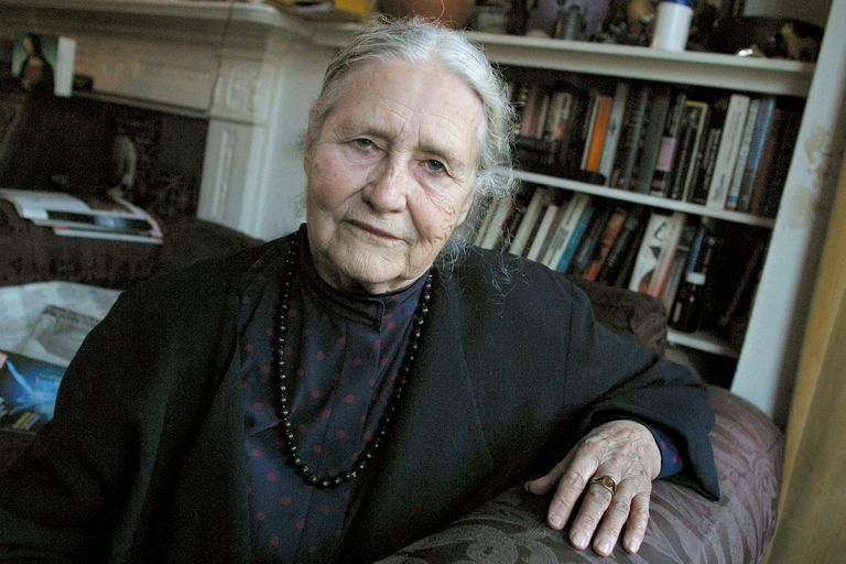 Doris Lessing, 2003