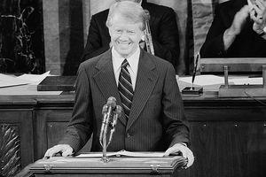 Carter Announces Camp David Accords