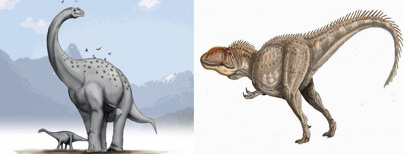 argentinosaurus giganotosaurus