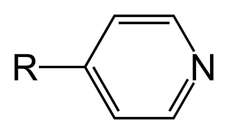 The pyridyl functional group is a derivative of pyridine.