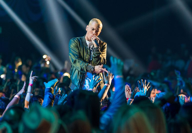 Eminem Performs at 2014 MTV Music Words