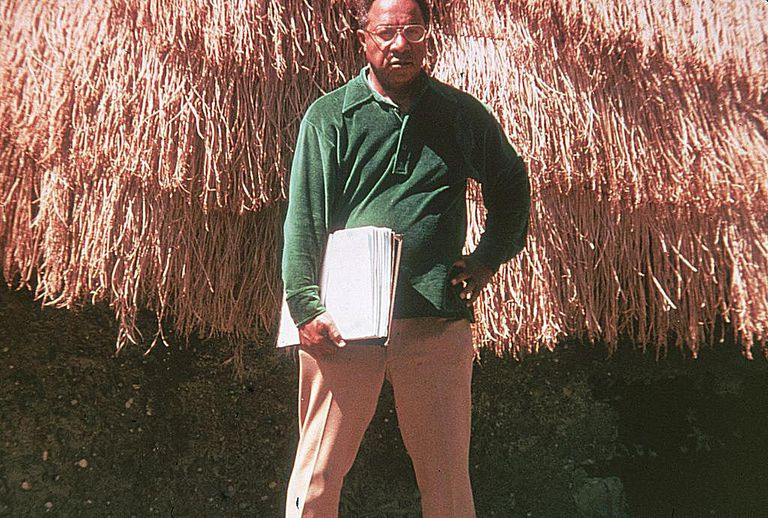 "Alex Haley, author of ""Roots,"" 1977"