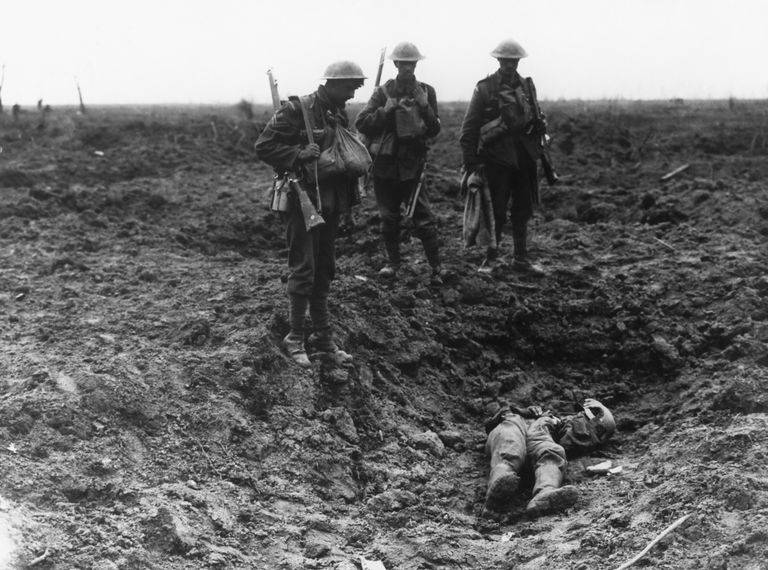 The First Battle of Ypres During World War I