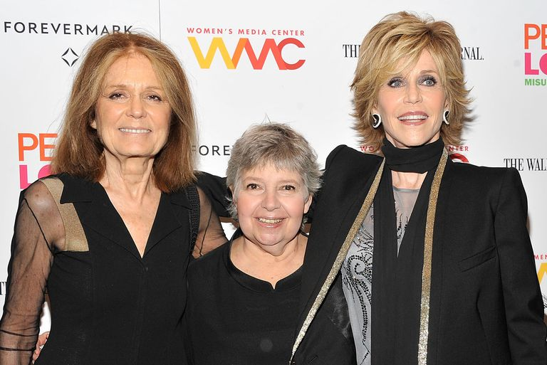 Gloria Steinem, Robin Morgan and Jane Fonda, 2012