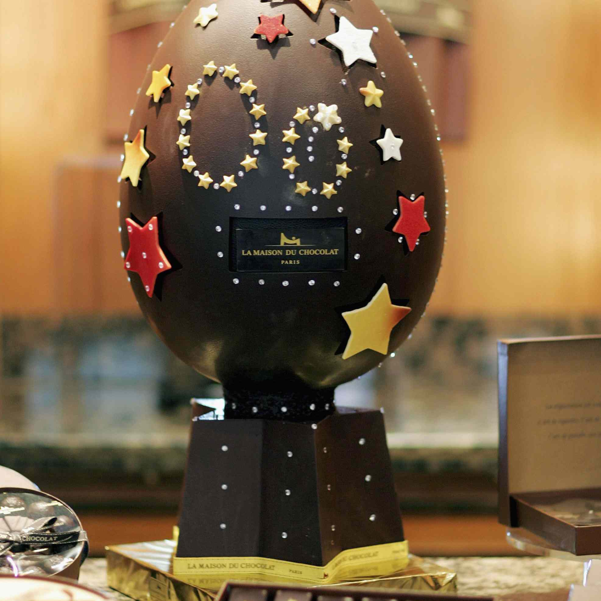 UK's Most Expensive Easter Egg Unveiled