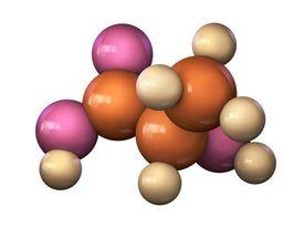 Lactic acid molecule