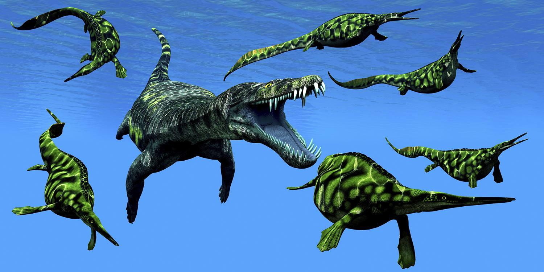 Un Nothosaurus