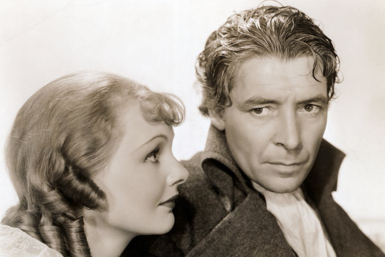 Ronald Coleman and Elizabeth Allan in MGM's 1936 film, 'Tale of Two Cities