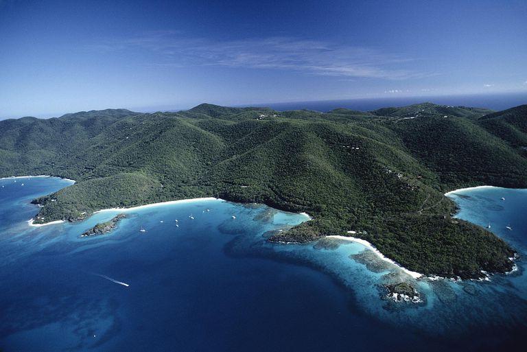 Trunk Bay, St. John, US Virgin Islands