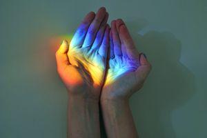 Catch a rainbow