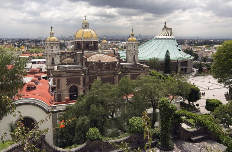 The Shrine of Guadalupe in Mexico City