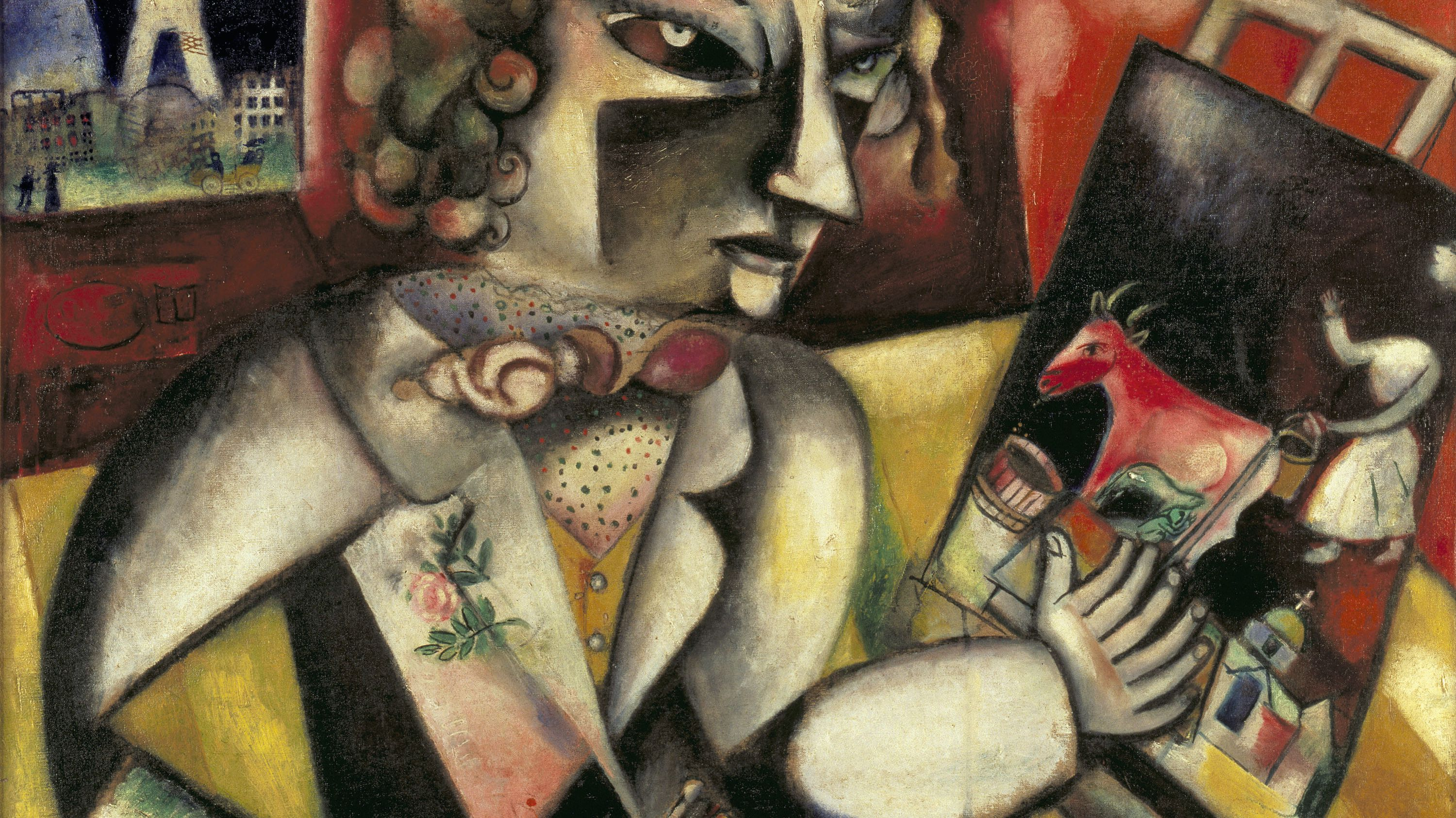 Biography of Dream and Folklore Artist Marc Chagall