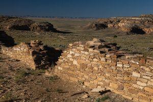 Pueblo Alto Ruins, Chaco Canyon, New Mexico
