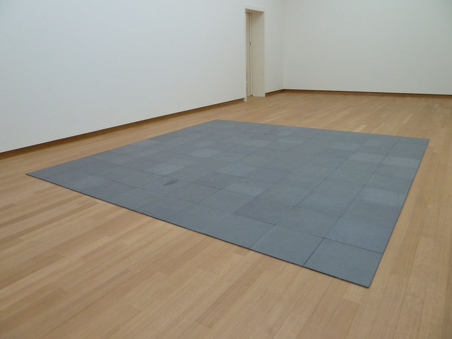 carl andre 10 x 10 alstadt lead square