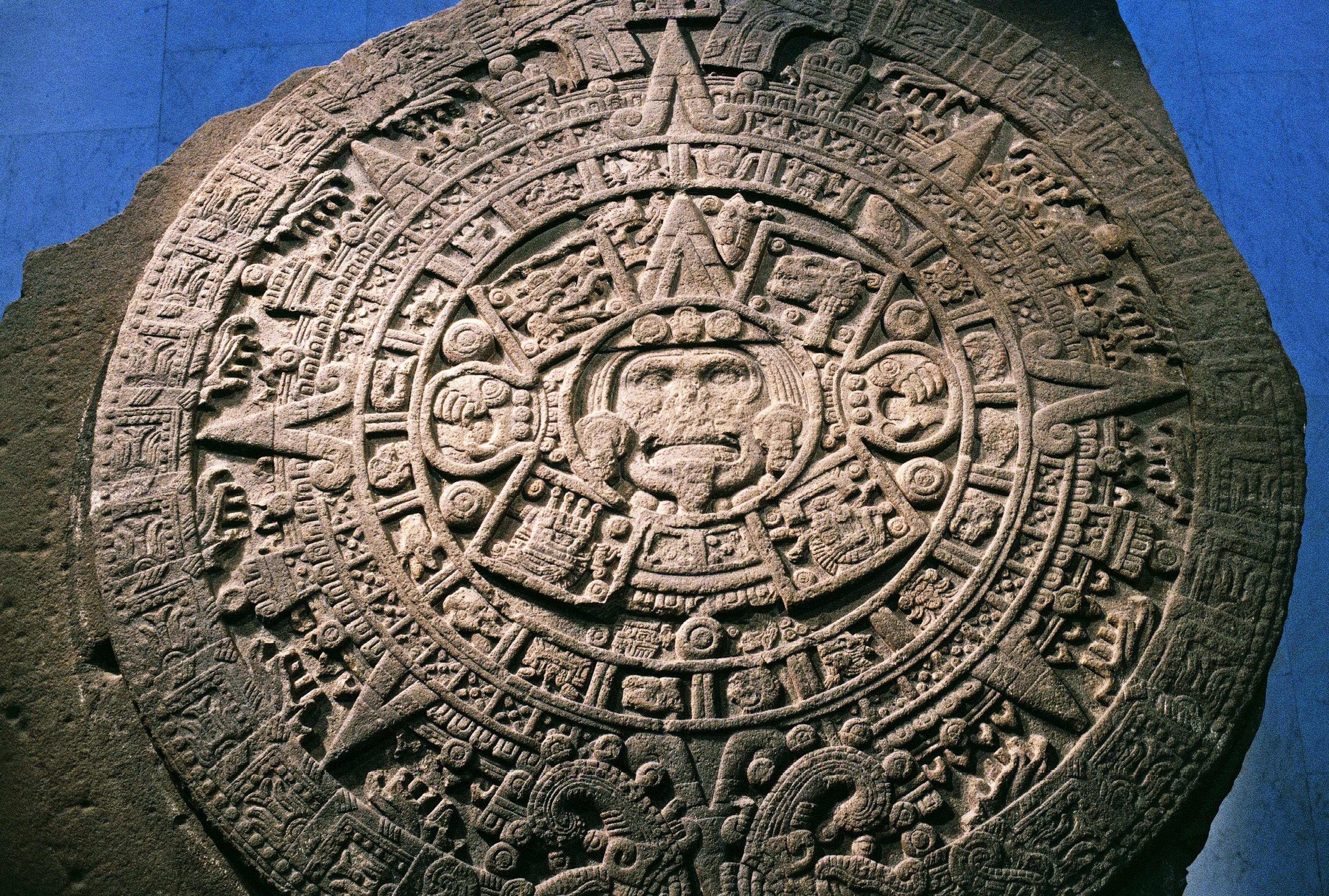 The Aztec Calendar Stone Not A Calendar After All