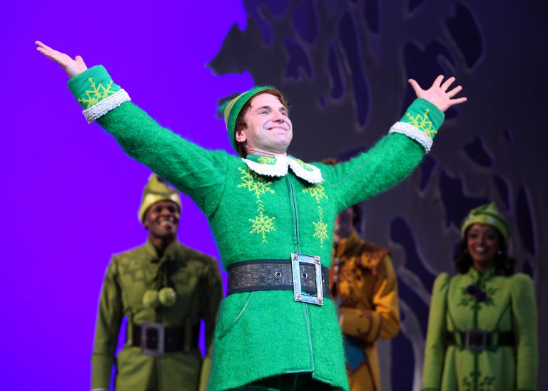 USA - 'Elf' Curtain Call in New York City