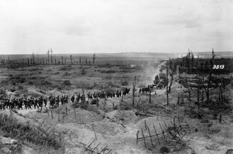 Troops move to the Second Battle of the Marne
