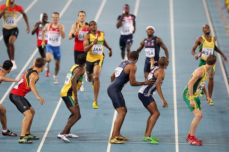 4x400 Meter Relay event in 2011