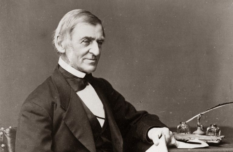 Photograph of Ralph Waldo Emerson