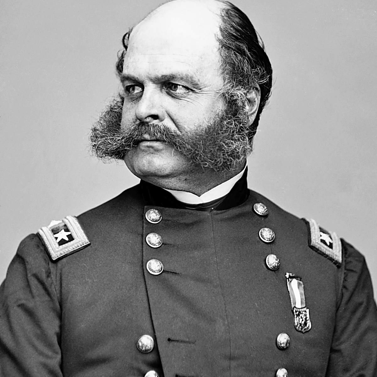 Portrait of Ambrose Burnside