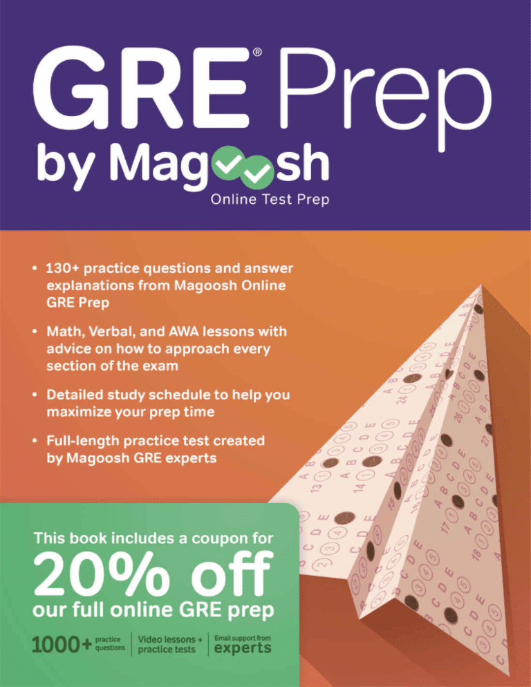 The 8 Best GRE Prep Books To Buy In 2018