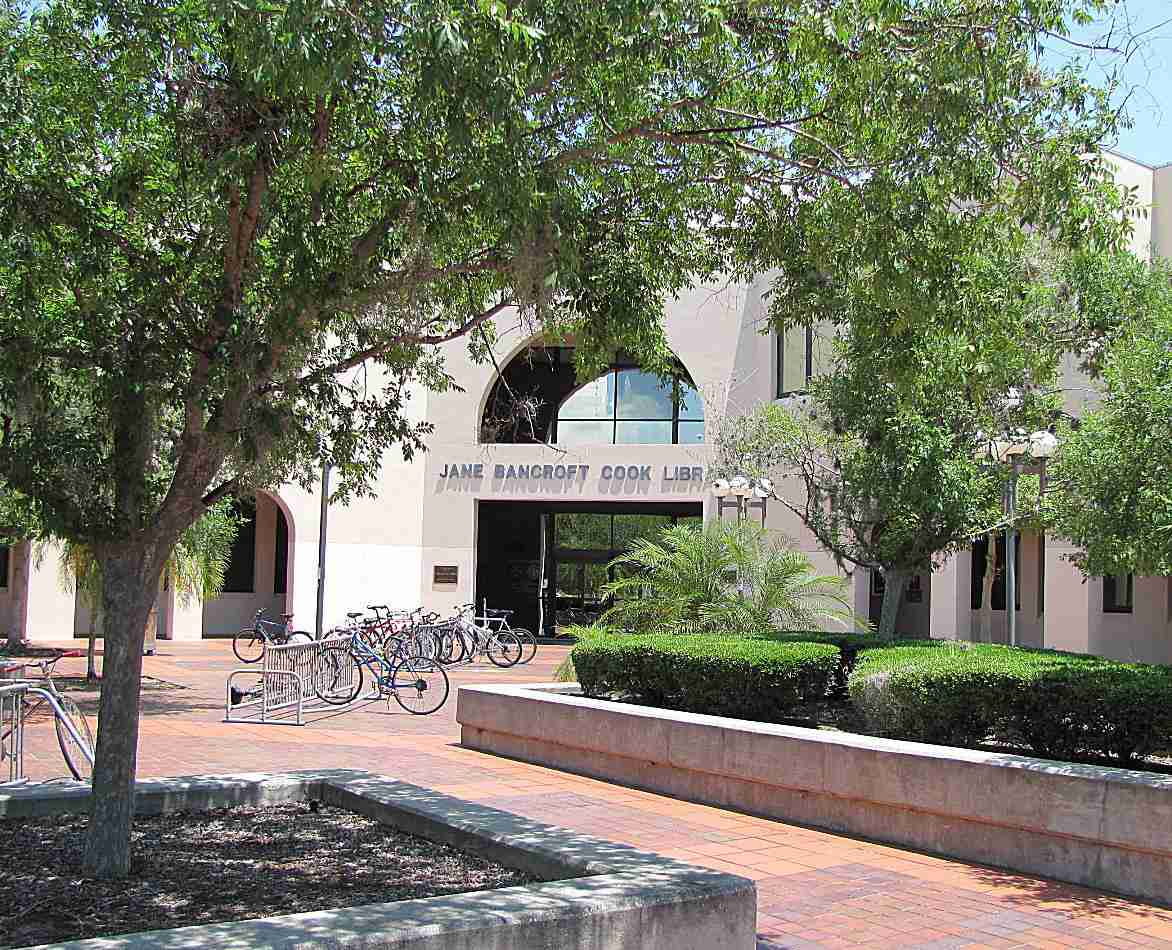 Cook Library at New College of Florida