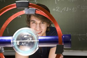 Physicists need to know how to work with math, solve problems, and think creatively.