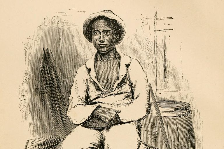 Illustration of Solomon Northup