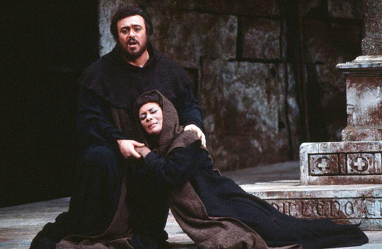 Verrett & Pavarotti In 'La Favorita'