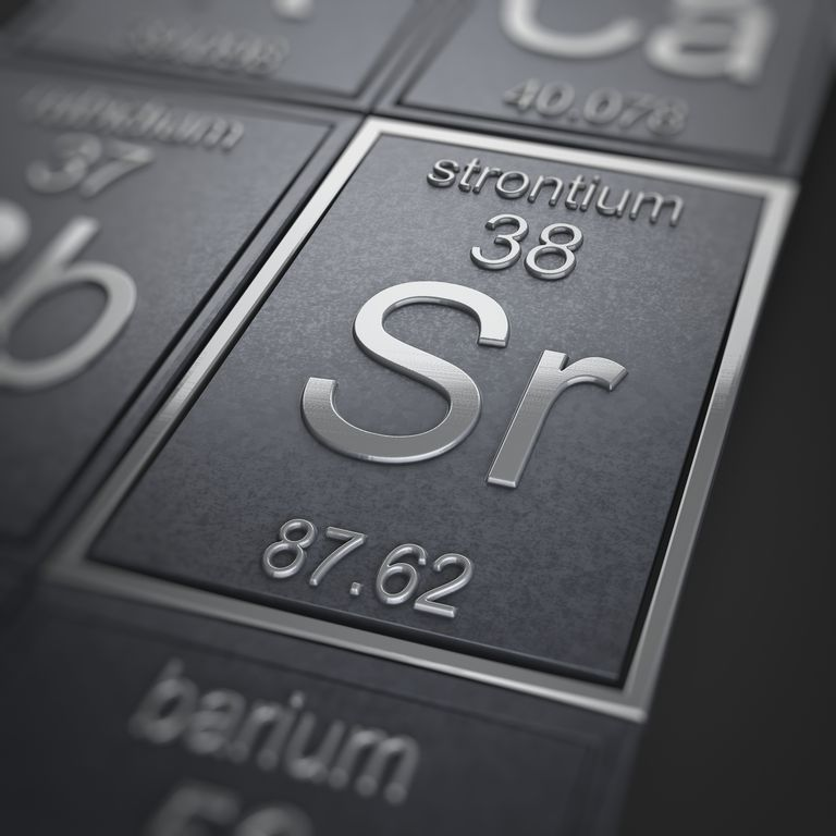 Strontium Facts Atomic Number 38 Or Sr