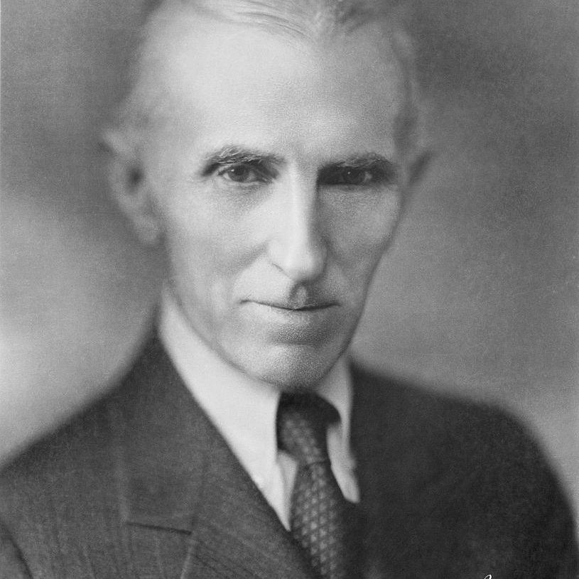 Nikola Tesla in 1934