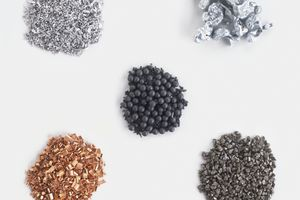 Metallic character refers to chemical properties associated with metals.
