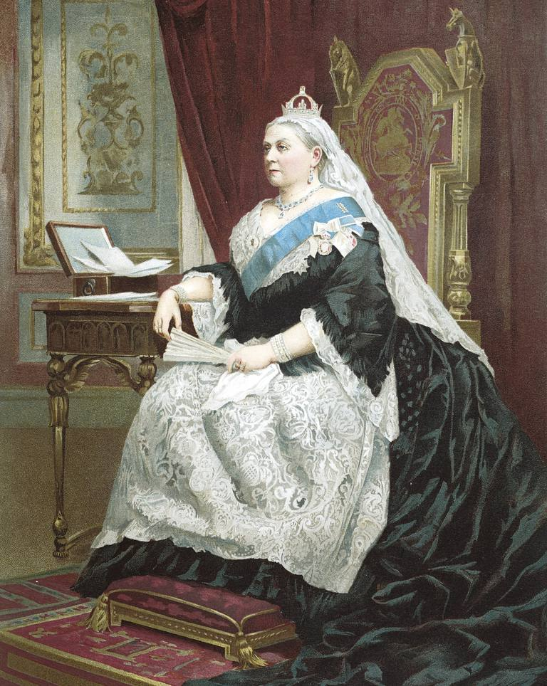 Jubilee of Queen Victoria in 1887 (London, 1819-Isle of Wight, 1901), Queen of United Kingdom
