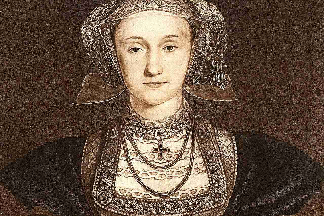 Anne of Cleves portrait, by Hans Holbein