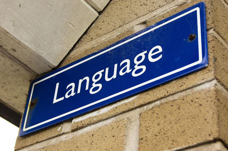 language sign
