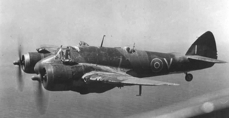 Bristol Beaufighter during World War II