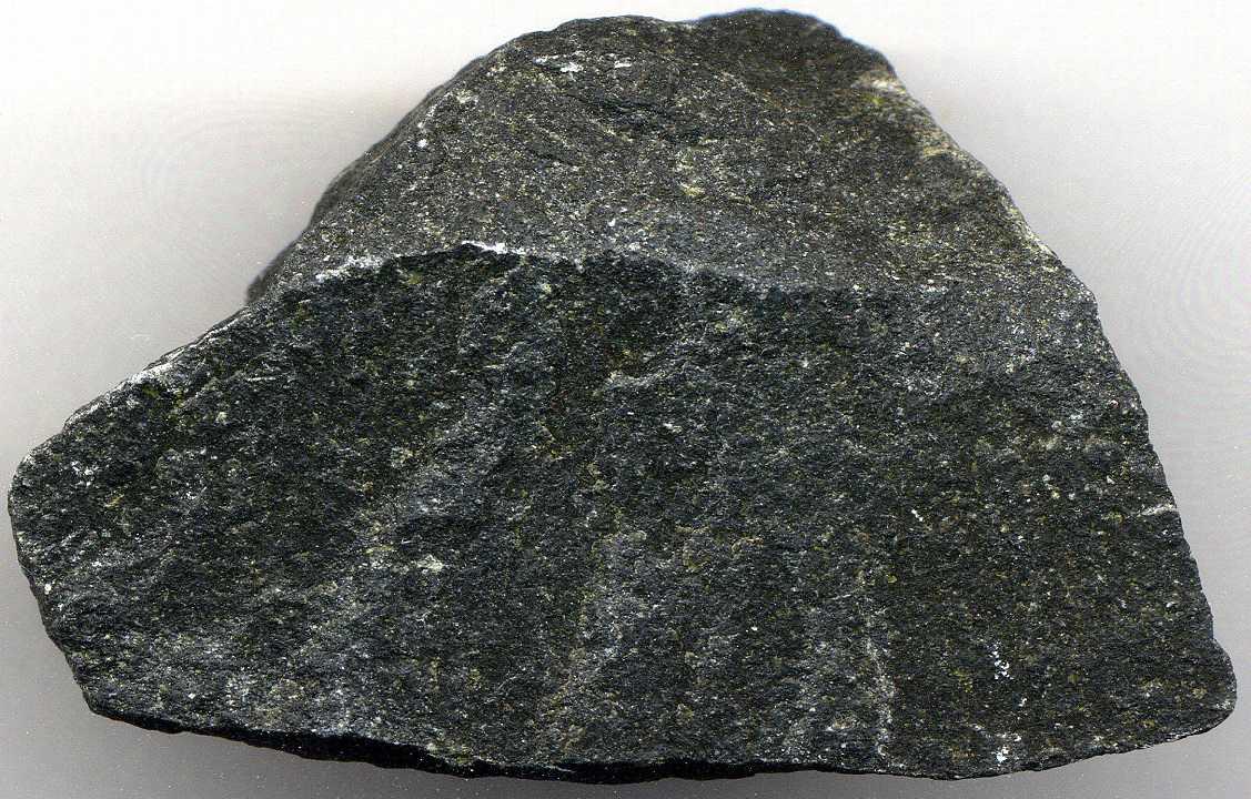 Large chunk of basalt rock.