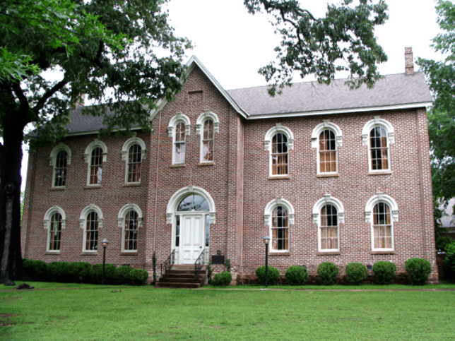Morrow Hall, the original Lyon College building