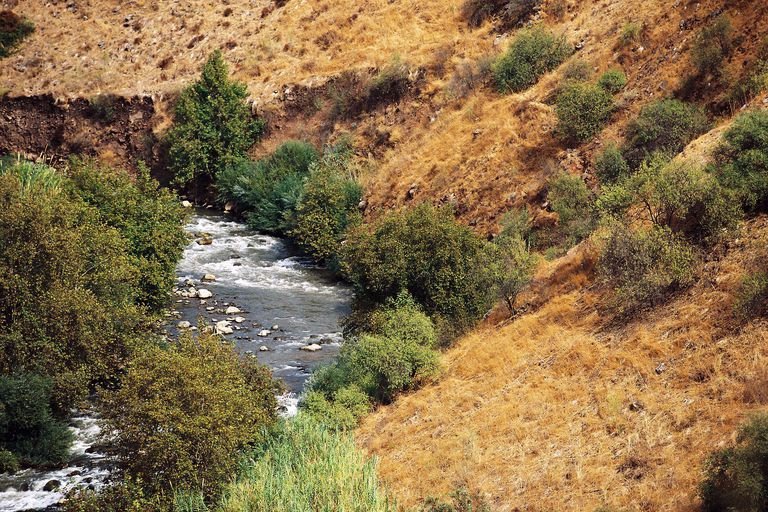 The Jordan river in Israel is a possible origin of the Jordan surname