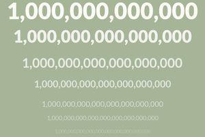 Bigger than a trillion