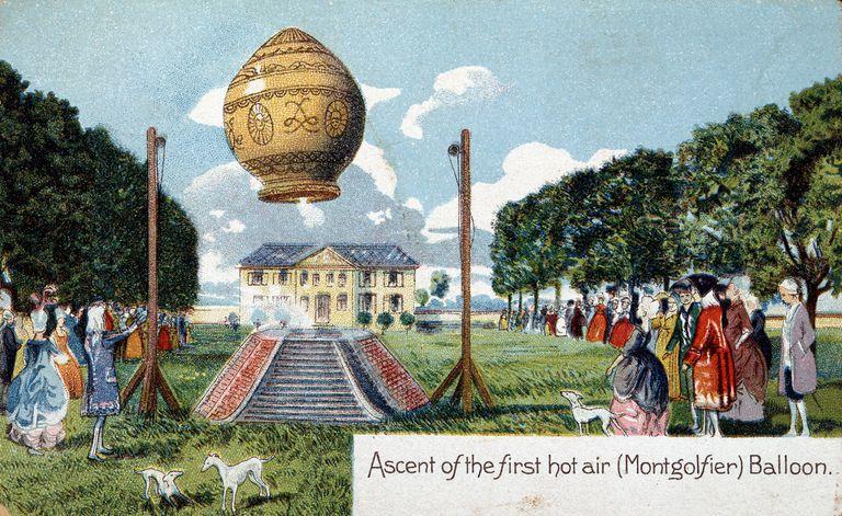 The First Hot Air Balloon