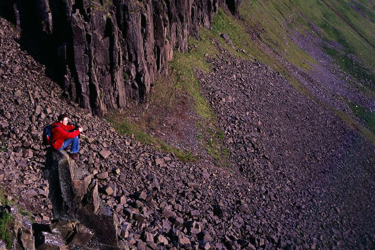 How To Hike On Scree A Sloped Field Of Loose Rocks