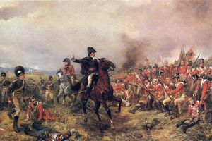Painting depicting the Napoleonic Wars.