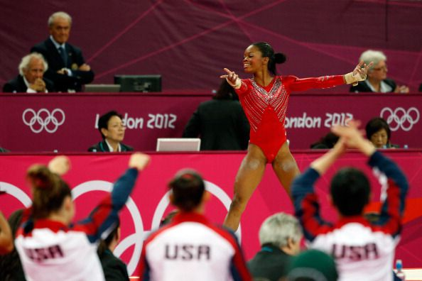 Gabby Douglas Olympic Gymnastics Photo
