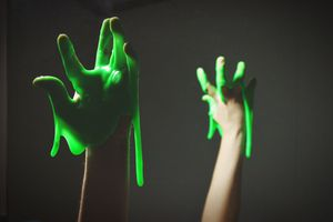 Slime is a fun example of a polymer.