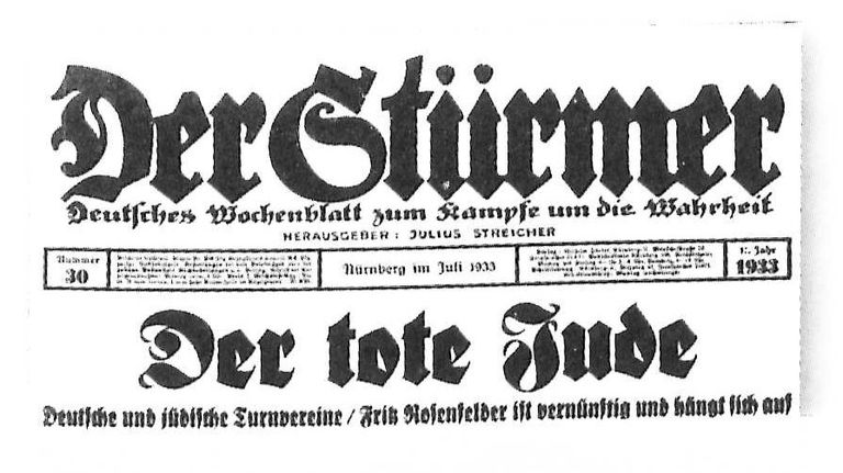Cover of Der Stuermer