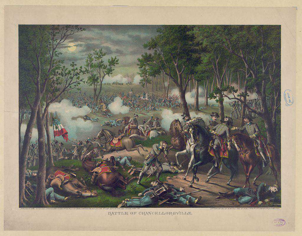 Battle of Chancellorsville in the American Civil War