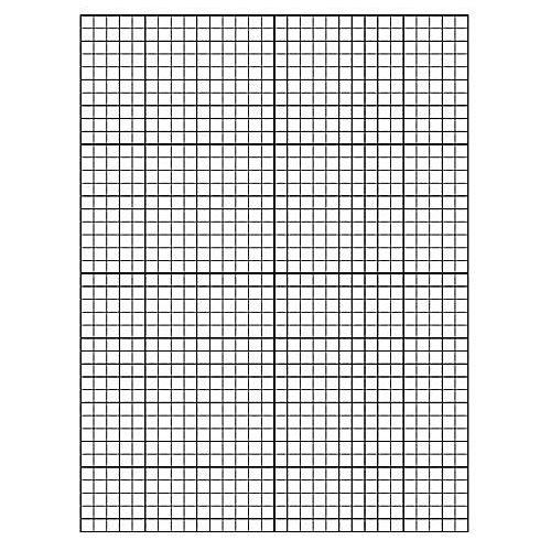 Printable Line Graph Paper: Downloadable Graph Paper
