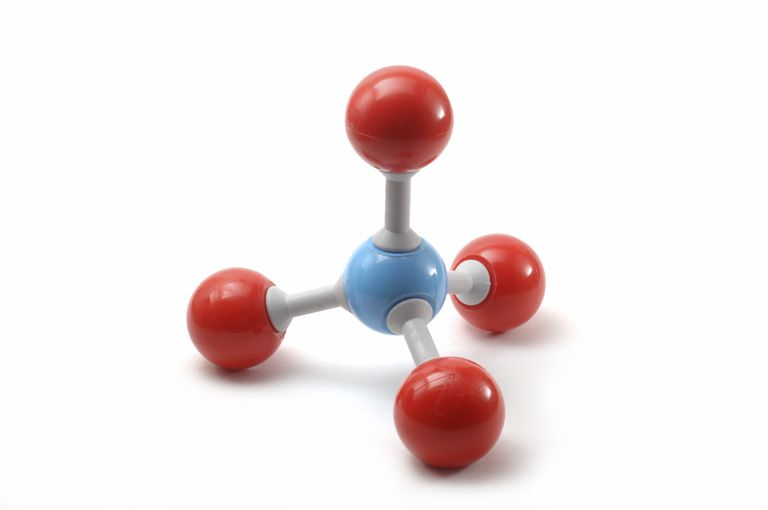 VSEPR theory can be used to predict the tetrahedral geometry of a methane molecule.